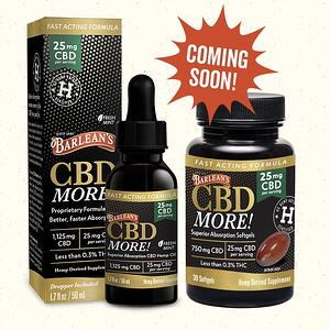 CBD More Coming Soon for Web