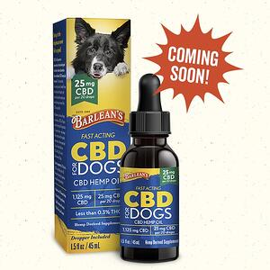 CBD for Dogs Coming Soon for Web
