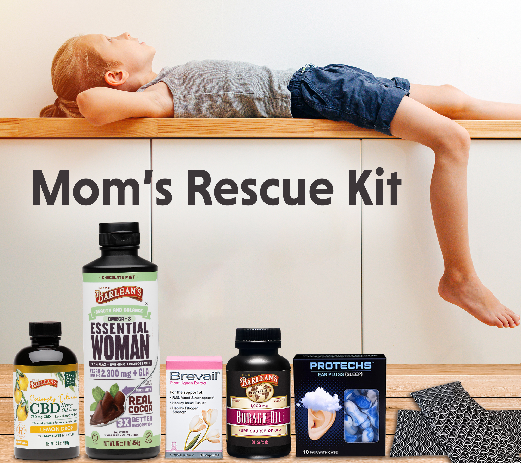 May 2020 giveaway products with kid