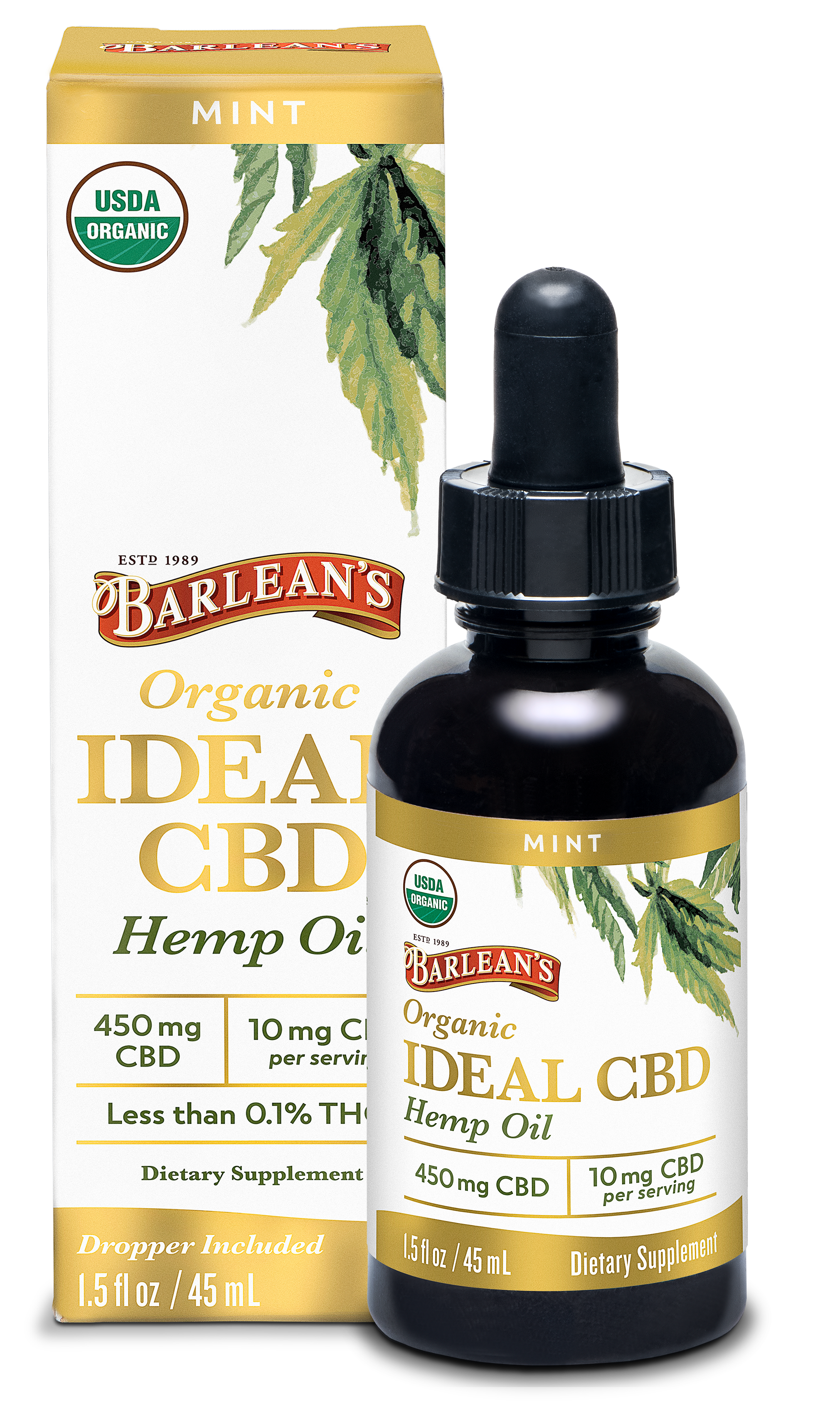 Organic CBD Box & Bottles